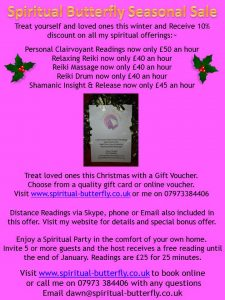 Psychic mediumship and Reiki Reduced!