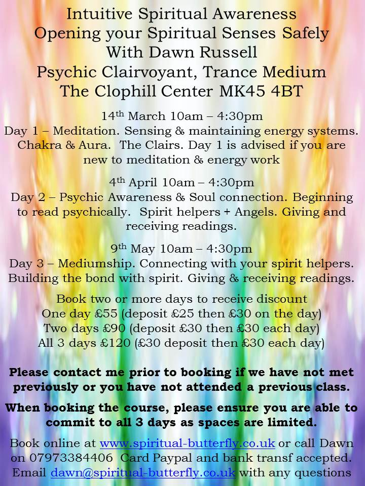 Intuitive Spiritual Development