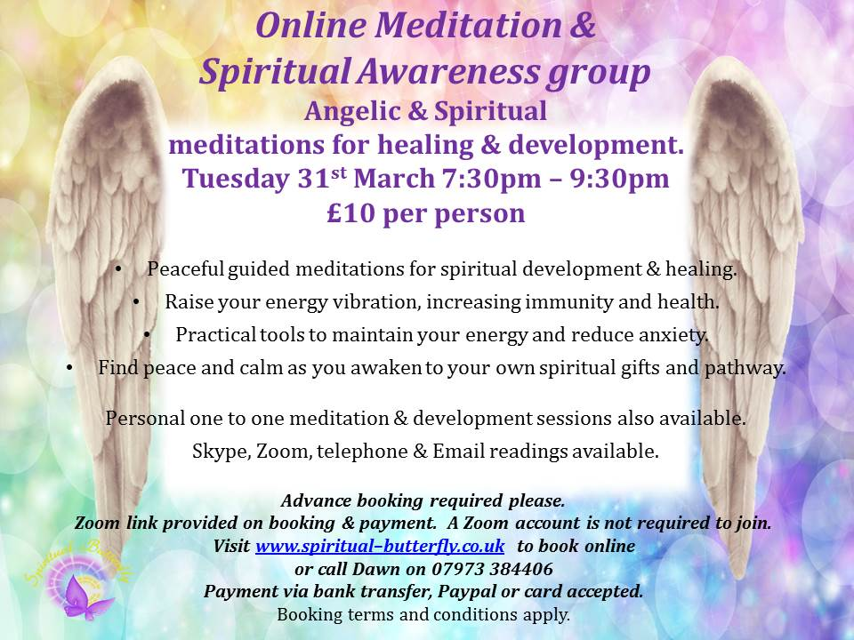 Online Meditation & Development Group