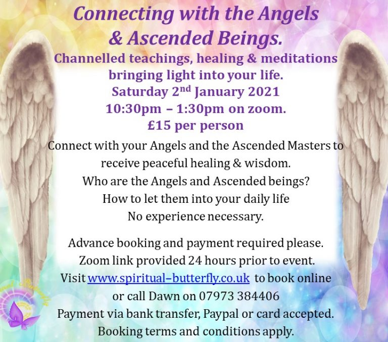 Channeled connection to the Angels and Ascended Masters 02.01.21