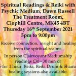 An Evening of Readings & Reiki at Clophill